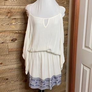 Young, Fabulous & Broke cold shoulder mini dress